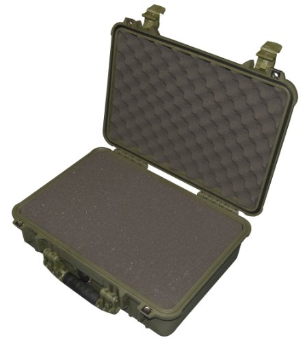 Cheap Peli 1500 Case with Foam for Camera – OD Green
