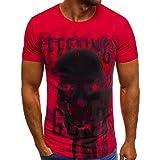 Gladdon Stripe Casual Summer Hommes Imprimer Capuche Manches T-Shirt Top Gilet Chemisierouvertes lâche Chemisiers Batwing Haut Blouse t-Shirt avec Dos Shirt à lacetssubfamily