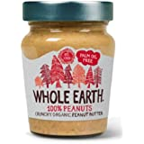 Whole Earth WEH02002 - Mantequilla de cacahuetes, paquete de 6 unidades