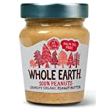 Whole Earth WEH02002 - Mantequilla de cacahuetes, 227 g