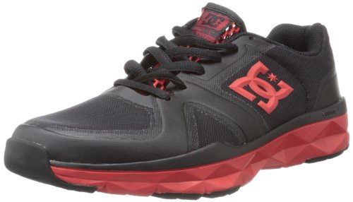 DC UNILITE TRAINER 320057-KAK, Herren Skateboardschuhe, Schwarz (BLK/AT/BLK), EU 42 (Sneakers Dc Athletic Shoes)