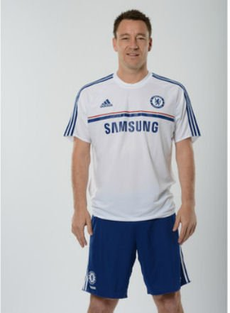 2013-14 Chelsea Adidas Training Shirt (White) 2XL - Adidas Chelsea Trainings Trikot