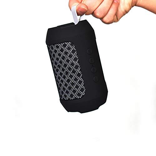 Altoparlante Bluetooth Mini Altoparlante Bluetooth Esterno Altoparlante Bluetooth Scheda di ricezione AudioTessuto scudo nero