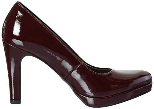 Tamaris Damen 22426 Pumps Rot (Bordeaux Pat. 580)