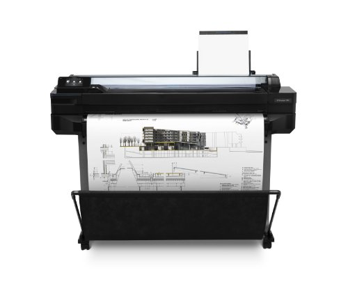 HP Designjet T520 ePrinter Series Großformatdrucker (91,4 cm (36 Zoll), 2400x1200 dpi, 1GB RAM, WiFi, USB 2.0) schwarz