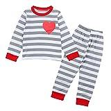 In Vendita,Vestiti Per Ragazza,Bambine E Ragazze,Pantaloni A Forma Di Cuore Da Bambina A Forma Di Cuore, Completi Di Pigiama Da Notte
