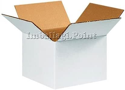 20 pezzi SCATOLA DI CARTONE imballaggio spedizioni 20x14x10cm scatolone avana