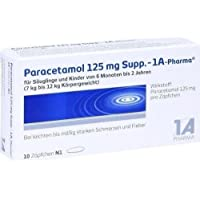 PARACETAMOL 125 mg 1A Pharma Suppositorien 10 St preisvergleich bei billige-tabletten.eu