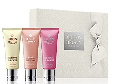 Molton Brown Hand Creams Gift Set New 3x40ml