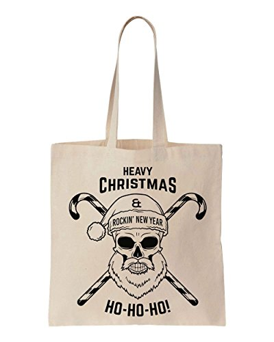 heavy-christmas-and-rockin-new-year-winter-skull-design-cotton-canvas-tote-bag