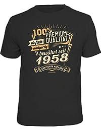 RAHMENLOS Original Geschenk T-Shirt Zum 60. Geburtstag