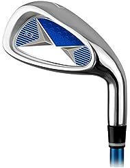 GOERF Leichter Golf Putter Golf Practice Club Golf Carbon Eisen 7 Eisen Männer und Frauen Kinder Anfänger üben Pole für 3-12 Jahre alt orange rot blau Golfclubs für Männer und Frauen