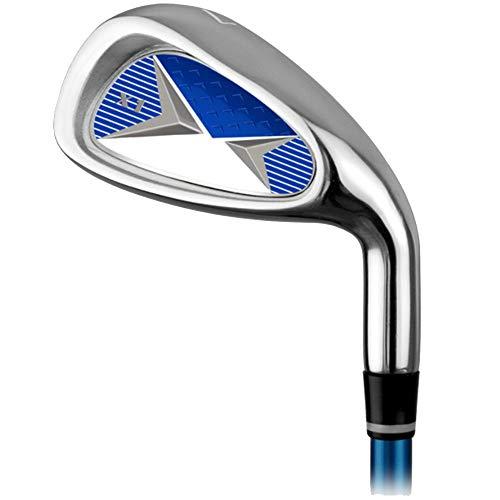 DorisAA Golf Practice Club Golf Carbon Iron 7 Fers Hommes Et Femmes Enfants Débutants Pratique...