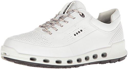 Ecco Herren Cool 2.0 Sneaker, Weiß (White Dritton G5 1007), 44 EU