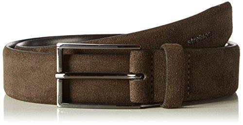 Strellson Premium Herren Gürtel 3887 Braun (D´Brown 52), 115 (Manufacturer Size:115)