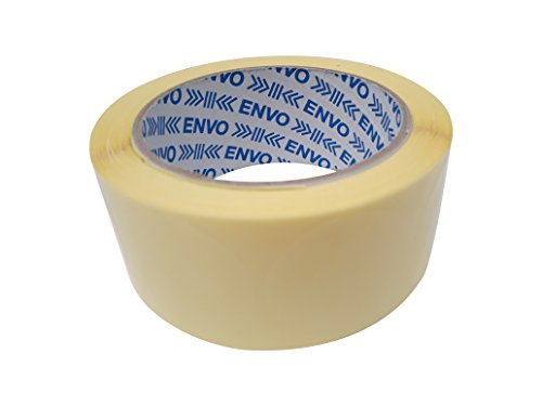 500 Claro redondo autoadhesivas de pegatinas para el envasado de productos / Borrar Ronda de sellado de etiquetas / Tamaño 4 cm de diámetro / 40mm