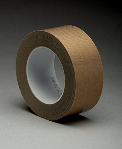 3M 7000144794 Glasgewebeklebeband, 5453, 50,8 mm x 33 m, 0,22 mm, Braun/Transparent (6-er Pack)