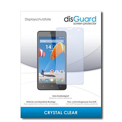 disGuard® Displayschutzfolie [Crystal Clear] kompatibel mit MobiWire Dyami [4 Stück] Kristallklar, Transparent, Unsichtbar, Extrem Kratzfest, Anti-Fingerabdruck - Panzerglas Folie, Schutzfolie