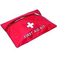 Hrph 14pcs / Set de primeros auxilios de Set de primeros auxilios de envoltura de abrigo de emergencia Kit de emergencia de camping de emergencia médica
