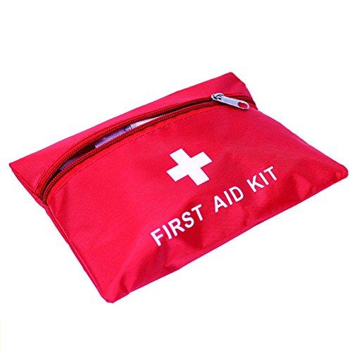 Hrph 14pcs / Set Erste-Hilfe-Überlebens-Beutel-Verpackungs-Zahnrad-im Freienjagd-kampierender Notfall-medizinischer Satz-Installationssatz (Verpackung Tape Pad)