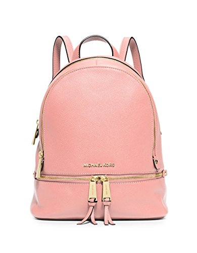 MICHAEL MICHAEL KORS Rhea Small Leather Backpack (Pale Pink)