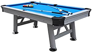Mightymast Leisure 7ft ASTRAL Professional Top of the Range Deluxe Outdoor Waterproof American Pool Table With All Accessories & Cover