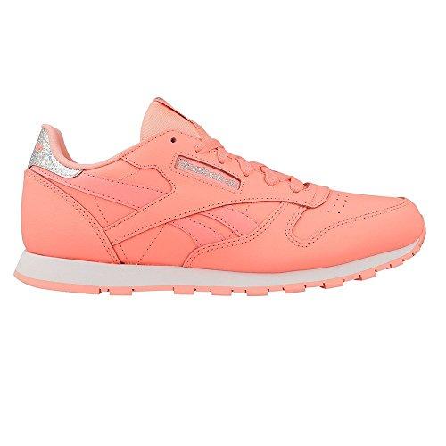 Reebok Classic Pastel, Sneaker a Collo Basso Unisex – Bambini Melon/White