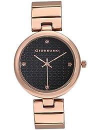 Giordano Analog Black Dial Women's Watch-A2059-22