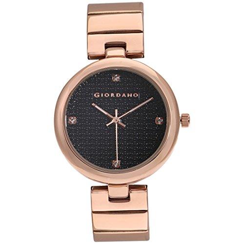 Giordano Analog Black Dial Women's Watch - A2059-22
