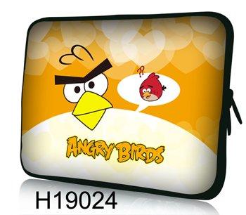 Funda blanda de neopreno para portátiles y tablets 17″- 17,6″. *Angry Birds Yellow*
