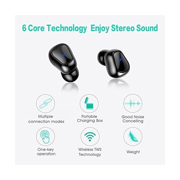 Cuffie senza fili Bluetooth 5.0 17c158875dee