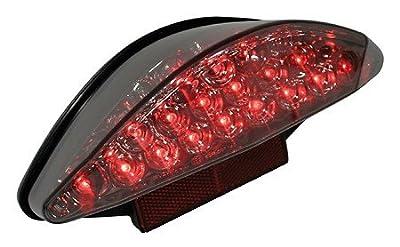Rücklicht LED SUPER BIKE 2, getönt, E-gepr.