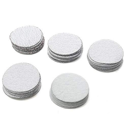Asdomo Schleifscheiben, 50 mm, Körnung 60 bis 400, 50 Stück