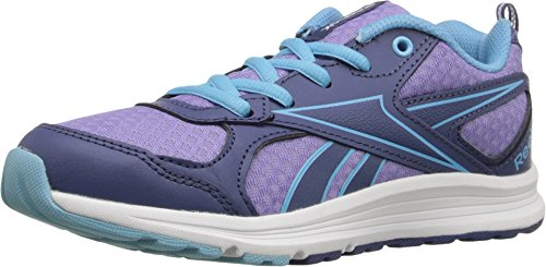 ReebokALMOTIO RS - K - Almotio Rs - K Unisex-Kinder, Blau (Blue Purple Multi), 21 EU M Großes Art (Schuhe Mädchen Basketball Reebok)