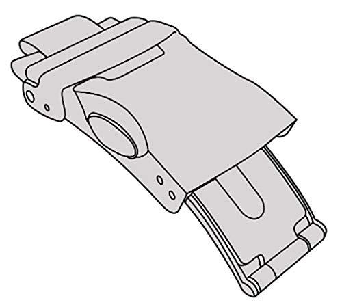 Casio Ersatzschließe Faltschließe aus Titan silberfarben für Wave Ceptor LCW-M160TD-1AER