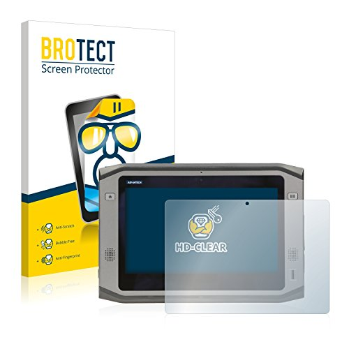2x-brotect-hd-clear-film-protection-advantech-pws-870-protection-ecran-transparent-anti-trace