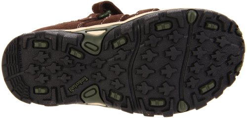 Timberland Hypertrail FTK Hypertrail Fisherman w  Strap Outdoor Sandals Unisex-Child  Braun Brown w  Olive Green  UK 7  EU 24  Toddler