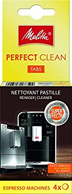 Melitta Tablet Cleaner, For Automatic Coffee Machines, Capsules and Pods, 4 x 1.8 g