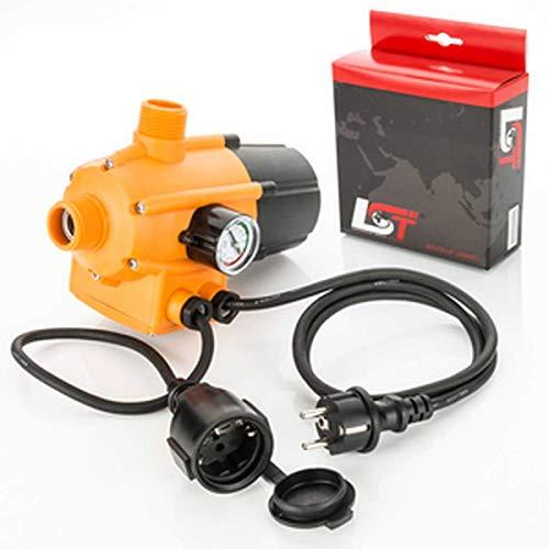 LST Pumpensteuerung mit Kabel Druckschalter 10bar für Gartenpumpe Hauswasserautomat