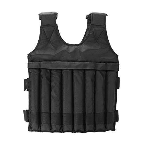 Gewichtsweste 1-20kg Verstellbare Weste Sportswear Fitness-Weste Ausdauertraining Ausrüstung geeignet für Übungen Langstreckenlaufen Sprint (Gewichtete Artikel Sind Nicht Enthalten)