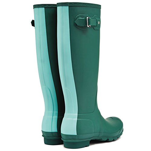 Hunter - Stivali di gomma Donna (Dunkelheit Malachite/Tourmaline Green)