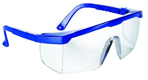 Univet Kinder Schutzbrille 511.03.01.00H Bügelbrille nach EN166 - mit Seitenschutz und einstellbarer Bügellänge