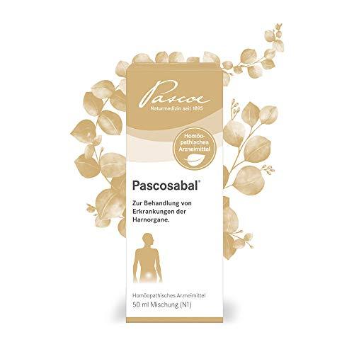 Pascoe® Pascosabal: bei Harnwegsentzündungen z. B. Blasenentzündung - mit Sägepalme (Sabal serrulatum) & Hortensie (Hydrangea arborescens) - laktosefrei, zuckerfrei, glutenfrei & vegan - 50 ml -