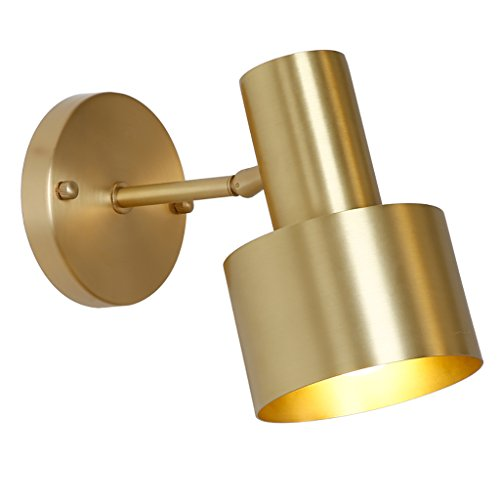 Kupferne Wand-Korridor-Gang beleuchtet Badezimmer-Eitelkeits-Spiegel-Wand-Lampe (größe : A) (Eitelkeit Spiegel Badezimmer)