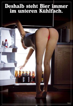"Empire Merchandising GmbH - Poster sexy girls 263766 ""Beer Bottom Shelf"", 61x91,5 cm"