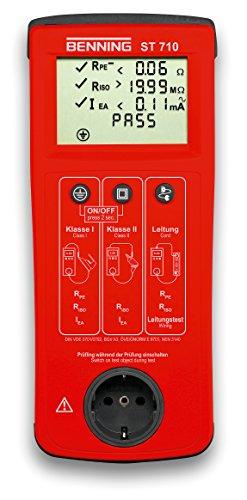 Preisvergleich Produktbild Benning ST 710 Gerätetester gemit DIN VDE 0701-0702, 050308