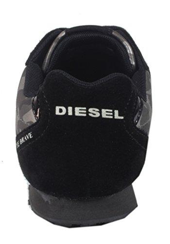 Joggon Moda Camuflagem Senhoras Jow Da Sapatilha 300 Diesel Da Negra Da Sapatos rqvZxwrSI