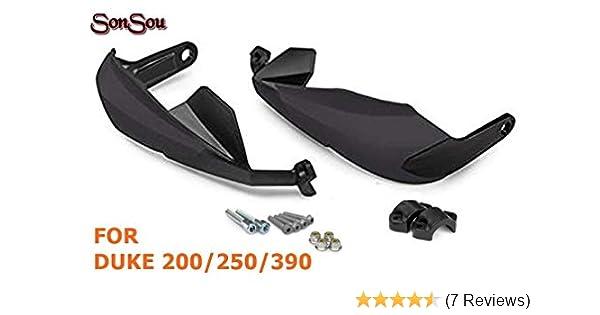 SONSOU Hand Guard for KTM Duke Black(for Duke 200/250/390