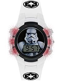 Star Wars Jungen Digital Uhr mit PU Armband STM4322