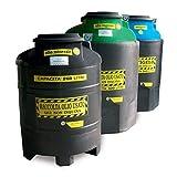 Disset Odiseo FG6878 Behälter für die Mülltrennung aus gebrauchten Ölen grün (Vegetal), 260 l
